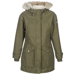 Parka donna Tommy Jeans  TJW ESSENTIAL LINED COTTON PARKA