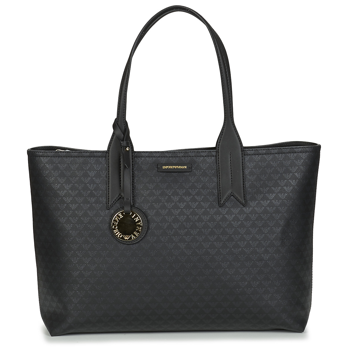 Emporio Armani Borsa A Spalla Shoulder Bag Black in nero