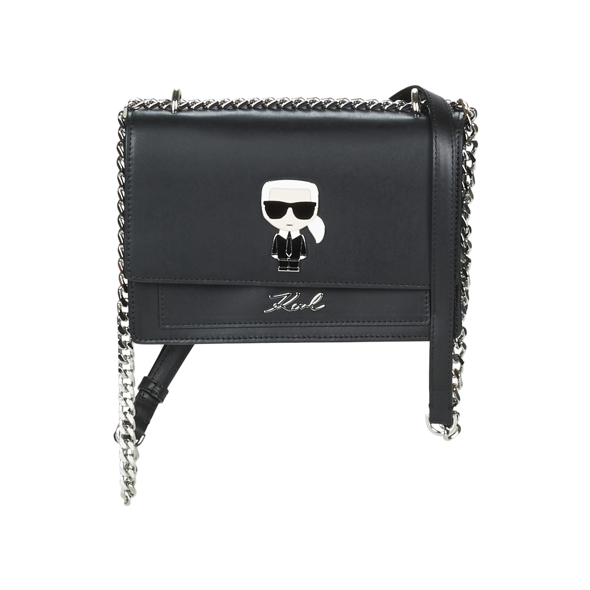 Borsa a spalla donna Karl Lagerfeld  K/IKONIC SHOULDER BAG Karl Lagerfeld 8720092045896
