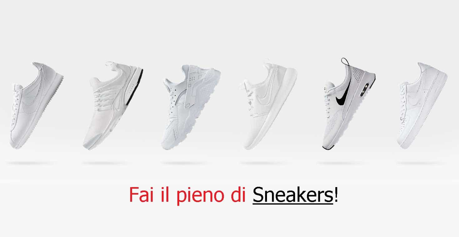 outlet scarpe sneakers