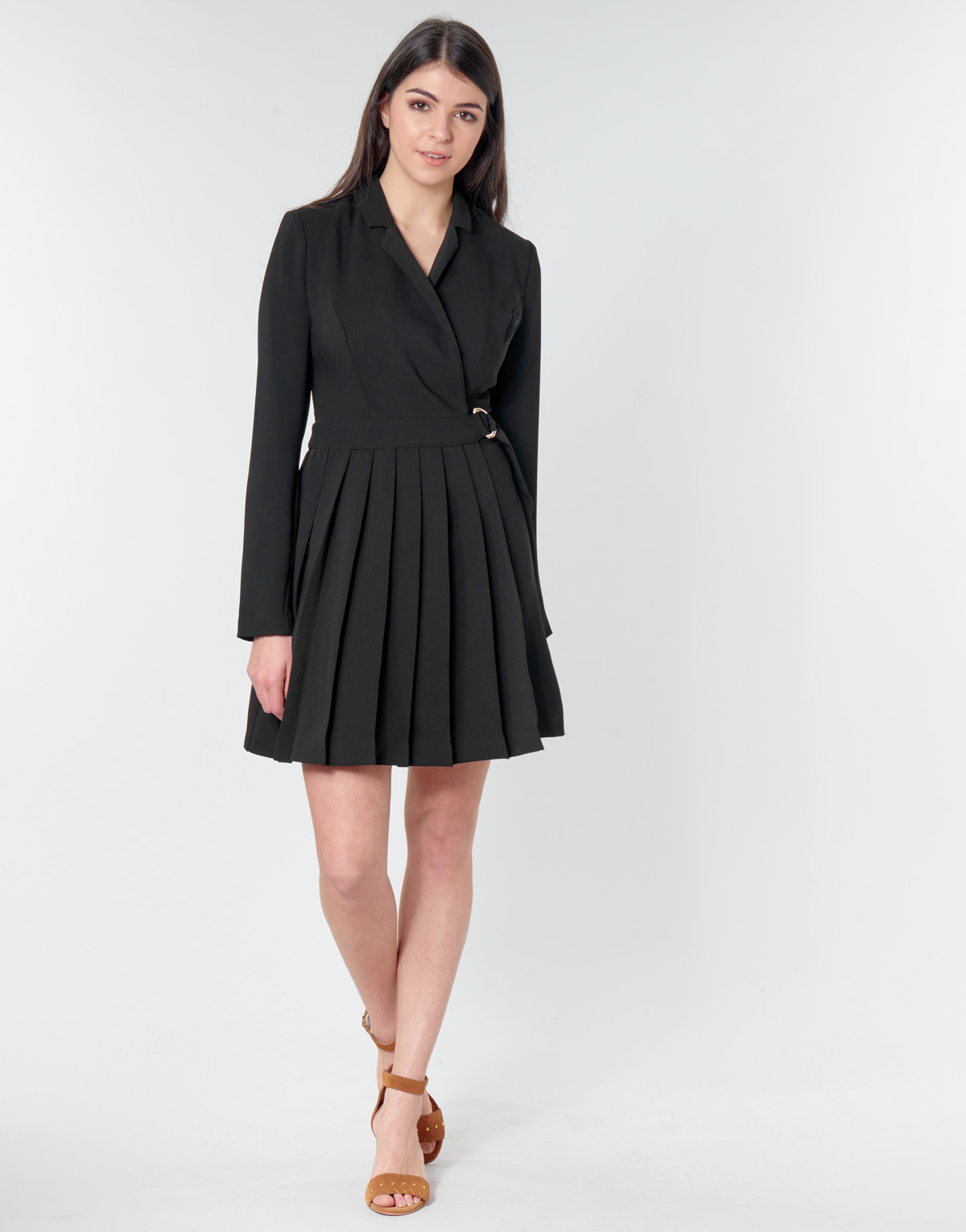 Abito corto donna Guess ALTAS DRESS Nero