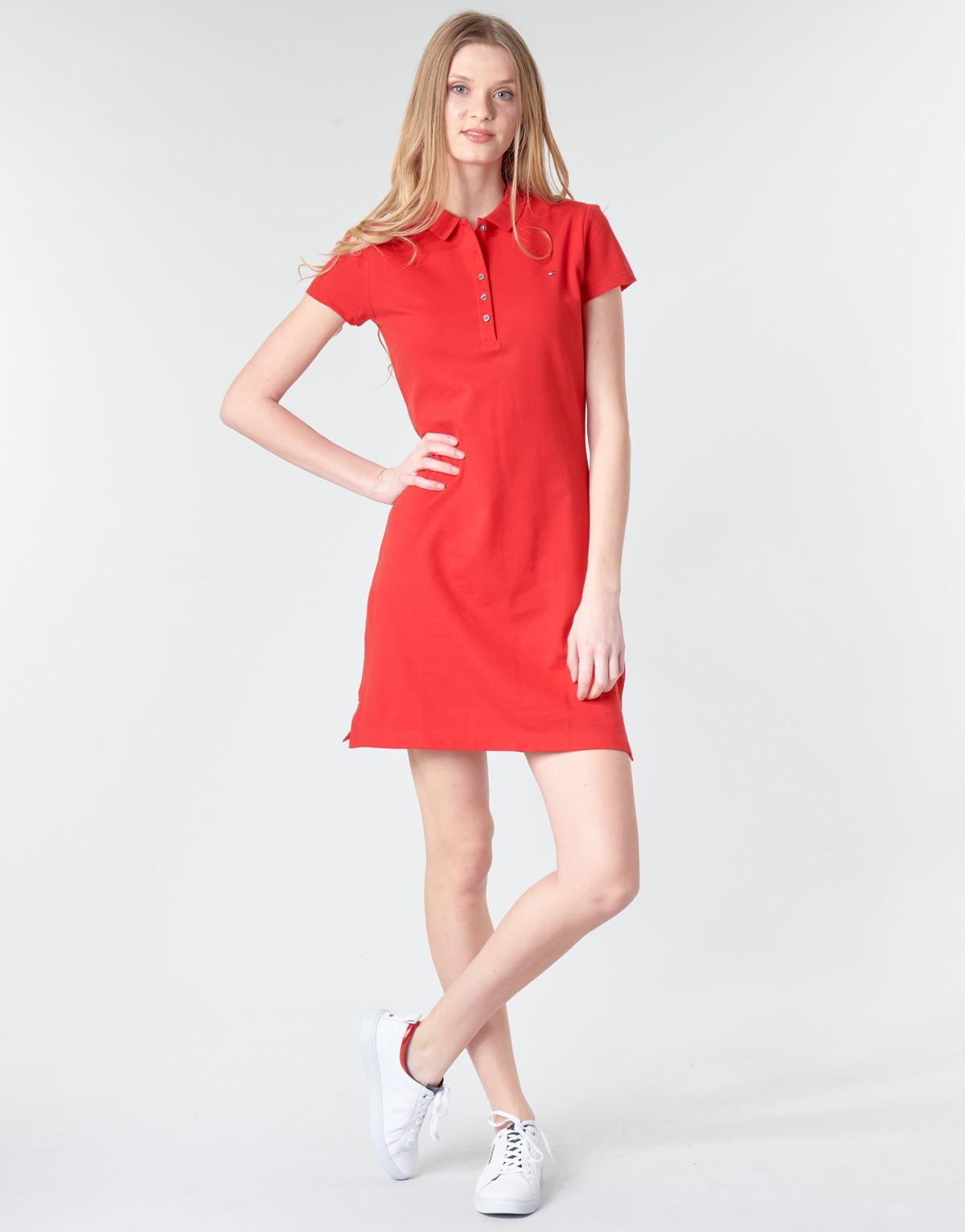 Tommy Hilfiger Slim Polo Dress Vestito Donna