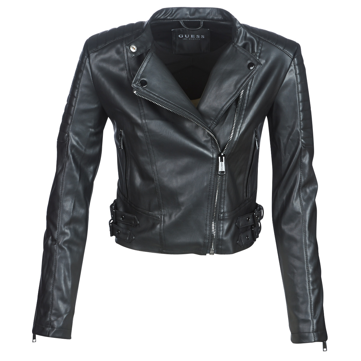 giacca pelle donne guess