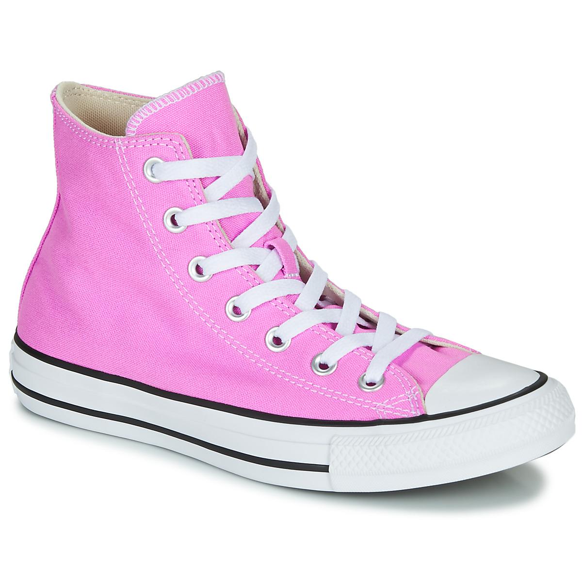 all star converse rosa
