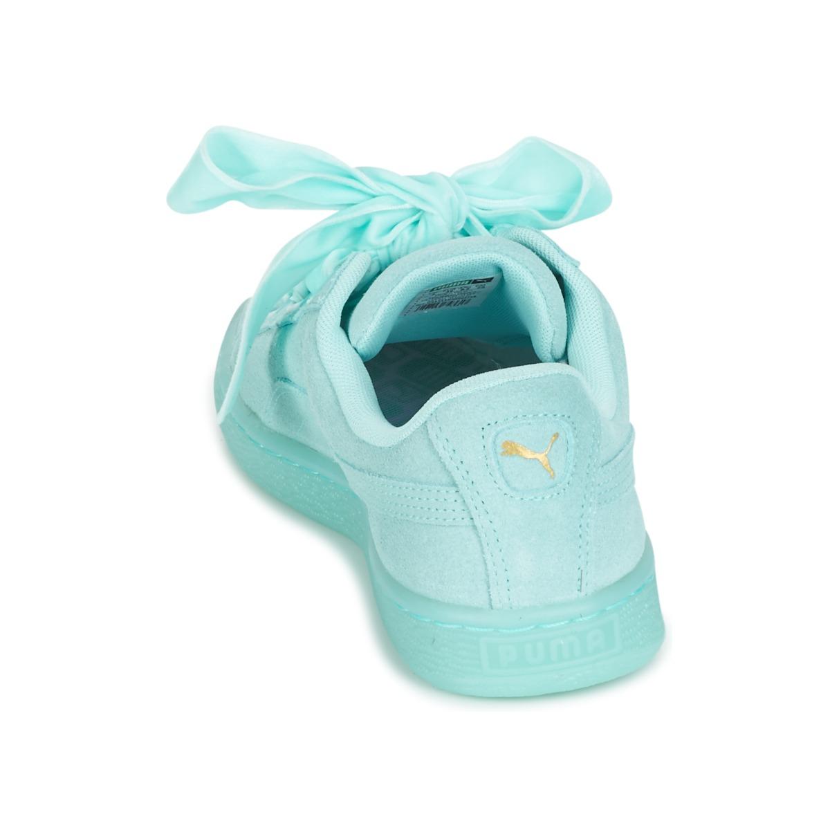 scarpe donna puma blu heart