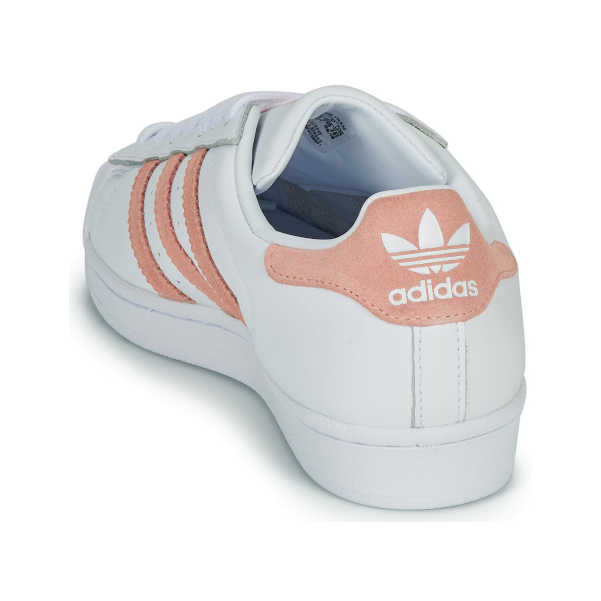 Sneakers basse donna adidas SUPERSTAR W Bianco