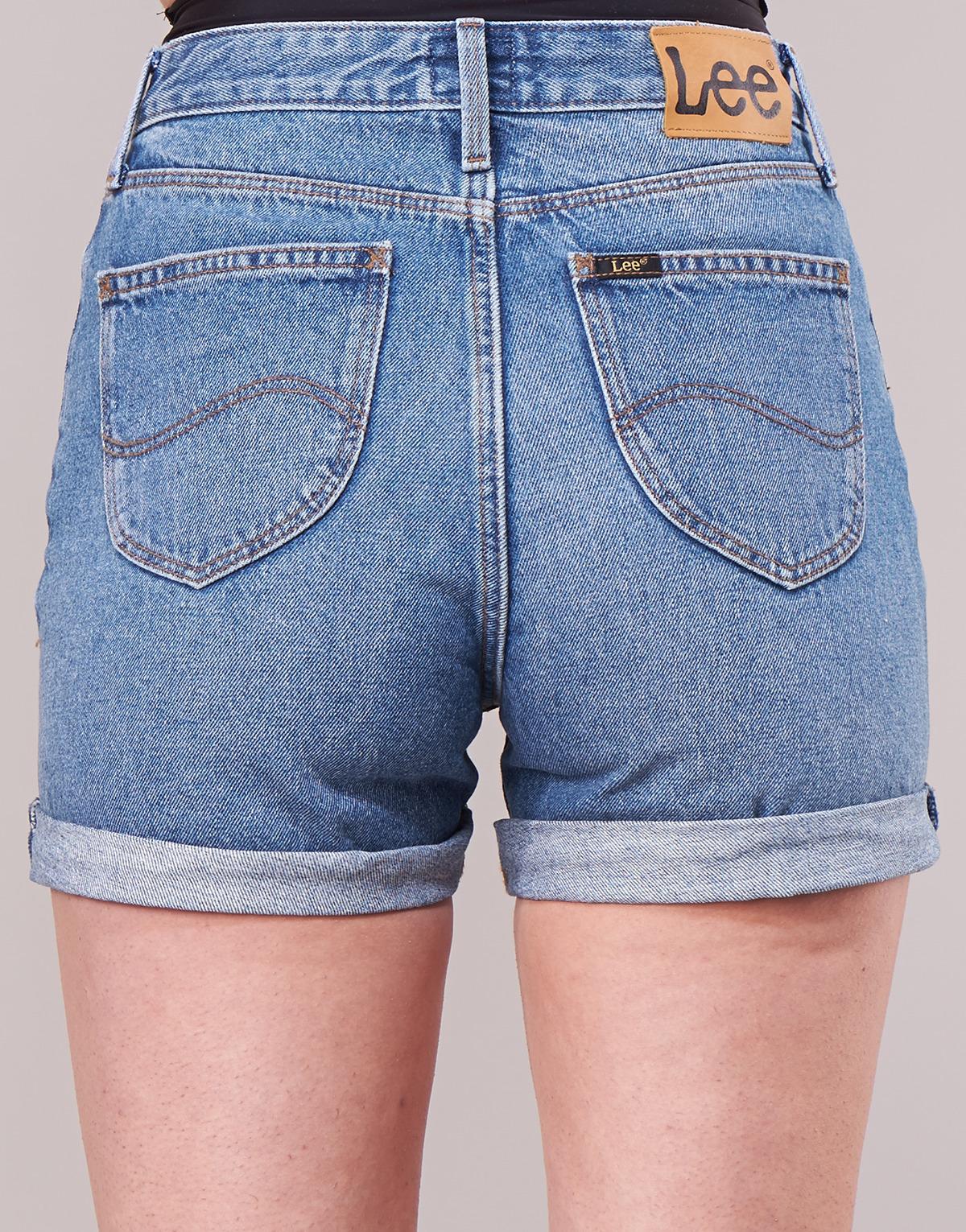 Mini shorts Jeans pantaloncini corti xs Blu poledance Vestito Donna Pantaloni 40