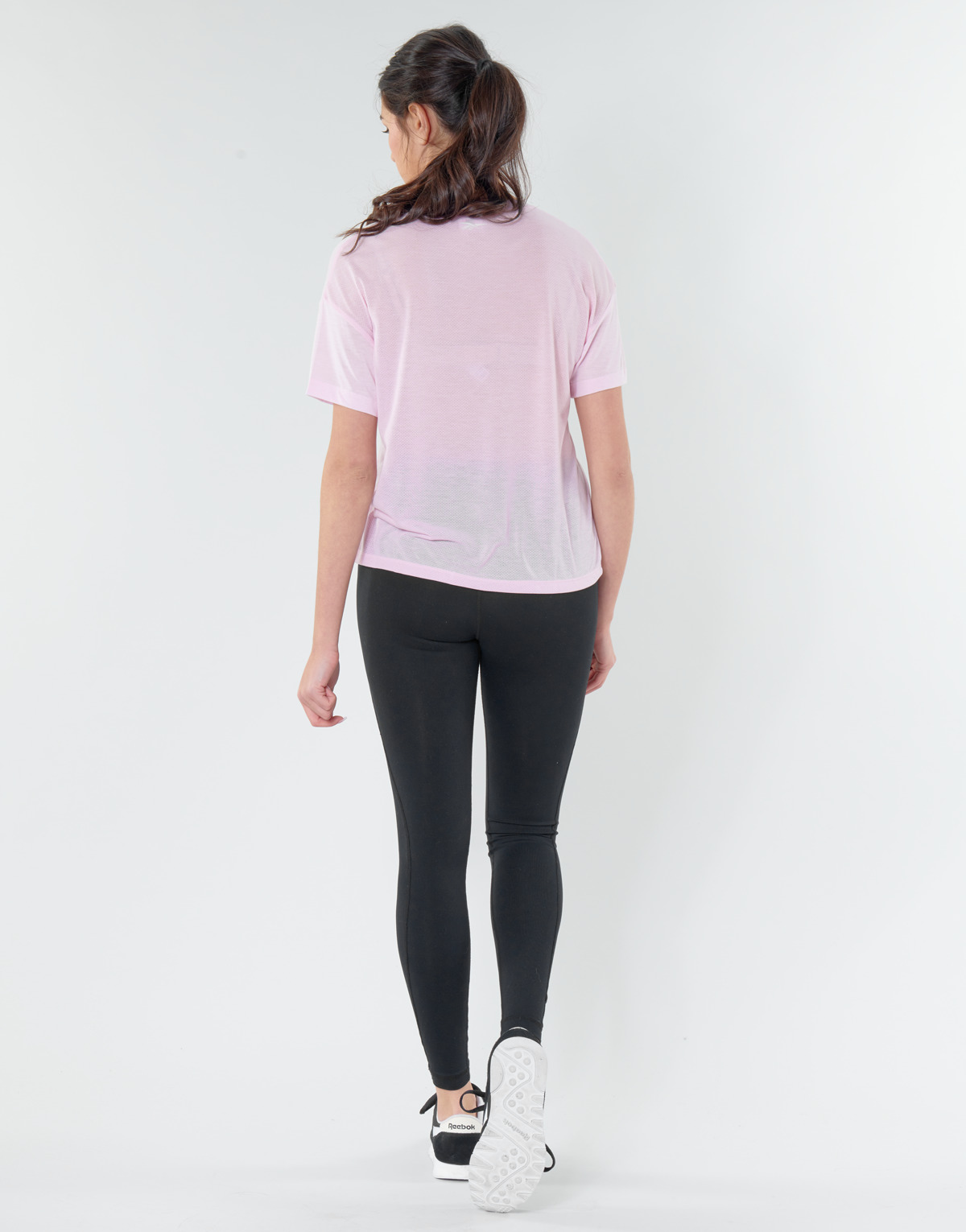 T shirt donna Reebok Classic WOR SUP BL Tee Rosa