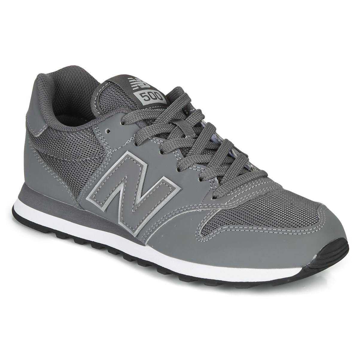 new balance 500 grigio