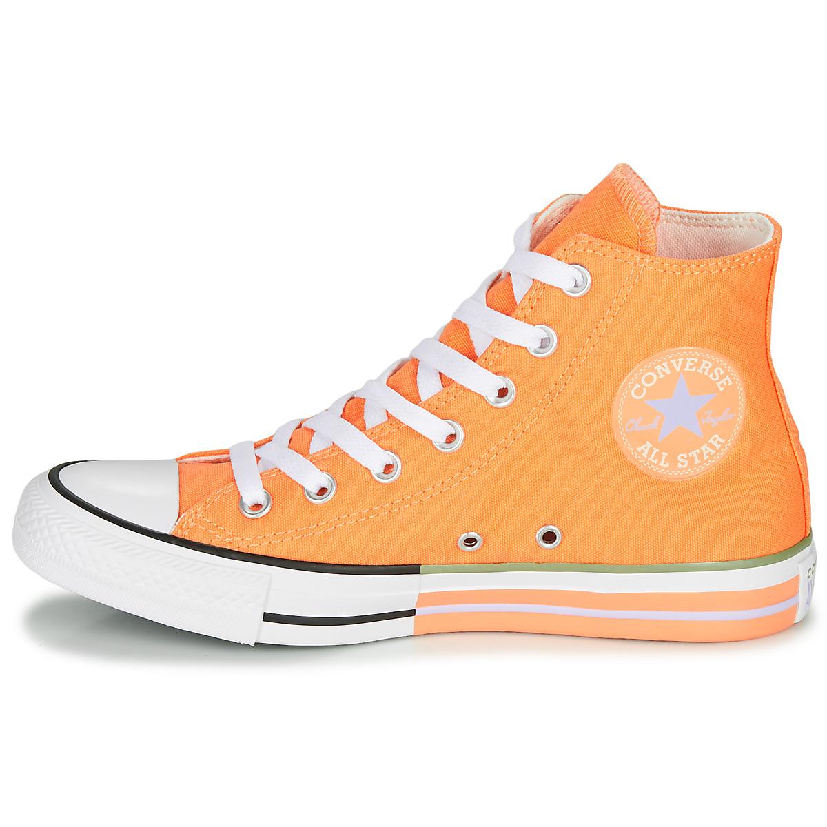 converse arancio