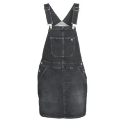 Abito corto donna Tommy Jeans  CLASSIC DUNGAREE DRESS SVBKC  Nero Tommy Jeans 8720111040017