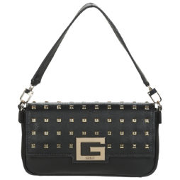 Borsa a spalla donna Guess  BRIGHTSIDE SHOULDER BAG  Nero Guess 190231338734