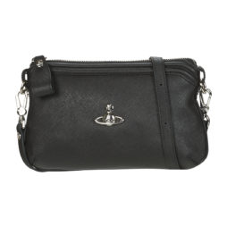Borsa a tracolla donna Vivienne Westwood  VICTORIA SMALL XBODY  Nero Vivienne Westwood 8050568865414