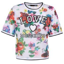 Camicetta donna Love Moschino  W4G2801  Bianco Love Moschino 8051126507357