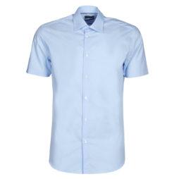 Camicia a maniche corte uomo Esprit  SOL B 60S MC SLIM  Blu Esprit 4062798181336