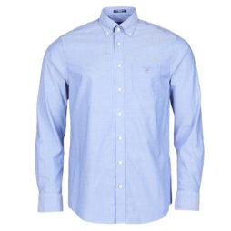 Camicia a maniche lunghe uomo Gant  THE BROADCLOTH  Blu Gant 7325702114125