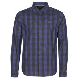 Camicia a maniche lunghe uomo Scotch   Soda  158434  Blu Scotch   Soda 8719029256078