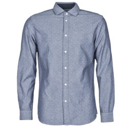 Camicia a maniche lunghe uomo Selected  SLHSLIMMARK  Blu Selected 5714502509057