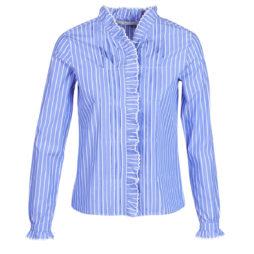 Camicia donna Maison Scotch  LONG SLEEVES SHIRT  Blu Maison Scotch 8719028283693