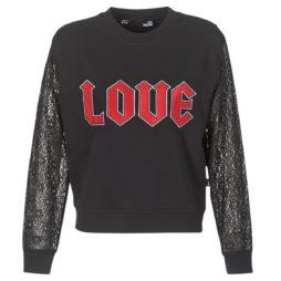 Felpa donna Love Moschino  NARU  Nero Love Moschino 8050326069832