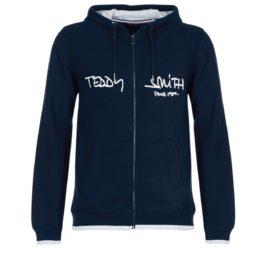 Felpa uomo Teddy Smith  GICLASS HOODY  Blu Teddy Smith 3607184243277