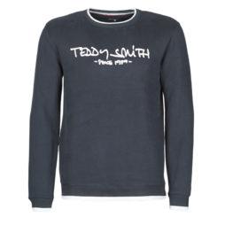 Felpa uomo Teddy Smith  SICLASS RC  Blu Teddy Smith 3607184242645