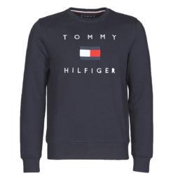 Felpa uomo Tommy Hilfiger  TOMMY FLAG HILFIGER SWEATSHIRT  Blu Tommy Hilfiger 8720111275600