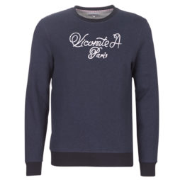 Felpa uomo Vicomte A.  SPENCER CALIGRAPHY SWEATER  Blu Vicomte A. 3663327925486