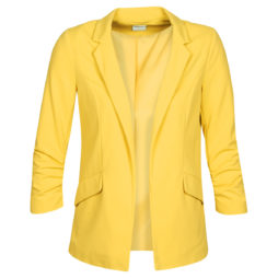 Giacca donna Only  ONLCAROLINA DIANA  Giallo Only 5714503463778