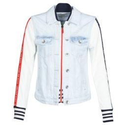 Giacca in jeans donna Desigual  COURI  Blu Desigual 8434486971875