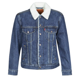 Giacca in jeans donna Levis  EX-BF SHERPA TRUCKER  Blu Levis 5400898288002
