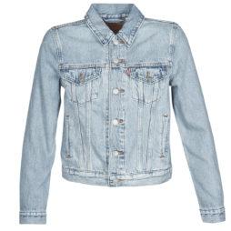 Giacca in jeans donna Levis  ORIGINAL TRUCKER  Blu Levis 5400898285186