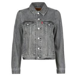 Giacca in jeans donna Levis  ORIGINAL TRUCKER  Grigio Levis 5400898285933