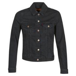 Giacca in jeans donna Levis  ORIGINAL TRUCKER  Nero Levis 5400816547488