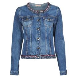 Giacca in jeans donna Moony Mood  -  Blu Moony Mood