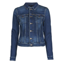 Giacca in jeans donna Tommy Jeans  VIVIANNE SLIM DENM TRUCKER BXDBS  Blu Tommy Jeans 8720111019174