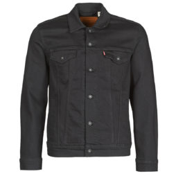 Giacca in jeans uomo Levis  THE TRUCKER JACKET  Nero Levis 5400816545927