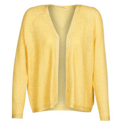 Gilet / Cardigan donna Only  ONLREVES  Giallo Only 5714514089783