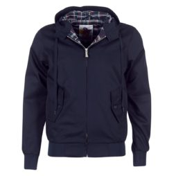 Giubbotto uomo Harrington  HARRINGTON HOODED  Blu Harrington 3700692504165