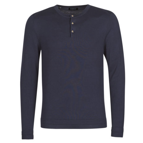 Maglione uomo Selected  SLHBROOME  Blu Selected 5714911353814