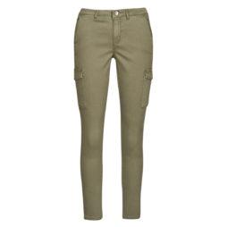 Pantalone Cargo donna Only  ONLNEW COLE  Kaki Only 5714506581189
