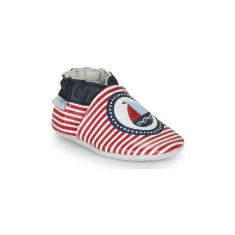 Pantofole bambini ragazzo Robeez  MY CAPTAIN  Rosso Robeez 3612887762185