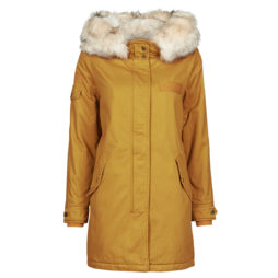 Parka donna Only  ONLMAY LIFE  Giallo Only 5714912362044