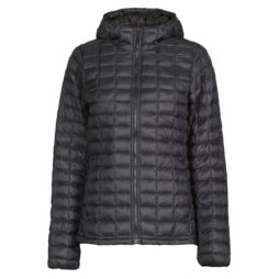 Piumino donna The North Face  W THERMOBALL ECO HOODIE  Nero The North Face 192827439405