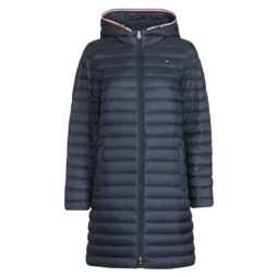 Piumino donna Tommy Hilfiger  TH ESS LW DOWN PACKABLE COAT  Blu Tommy Hilfiger 8720112405433