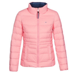 Piumino donna Tommy Jeans  MODERN DOWN JKT  Rosa Tommy Jeans 8719861016427