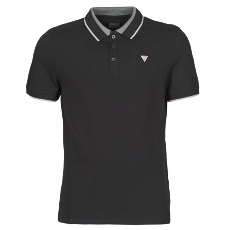 Polo uomo Guess  HORATIO SS POLO  Nero Guess 7621097081104