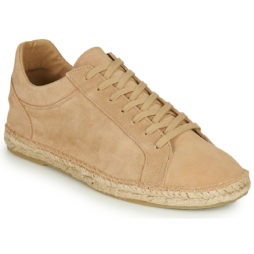 Scarpe Espadrillas uomo Selected  AJO SUEDE ESPADRILLES SNEAKERS  Beige Selected 5714502613532