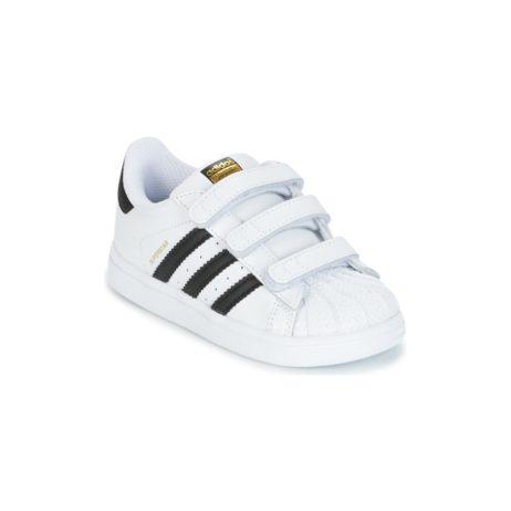 Scarpe bambini ragazzo adidas  SUPERSTAR CF I  Bianco adidas 4058027402112