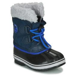 Scarpe da neve bambini ragazzo Sorel  CHILDRENS YOOT PAC NYLON  Blu Sorel 191455309340